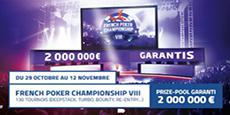 Image de couverture de l'article French Poker Championship VIII