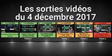 Image de couverture de l'article Sorties  vidéos du 4 décembre 2017