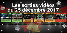 Image de couverture de l'article Sorties  vidéos du 25 décembre 2017