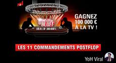 Image de couverture de l'article Découvre les 11 commandements du postflop