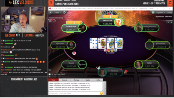 Image de couverture de l'article Les 10 meilleurs moments du Twitch Poker Game