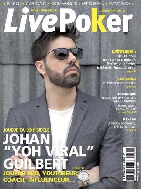 Image de couverture de l'article Interview de YoH ViraL dans LivePoker !